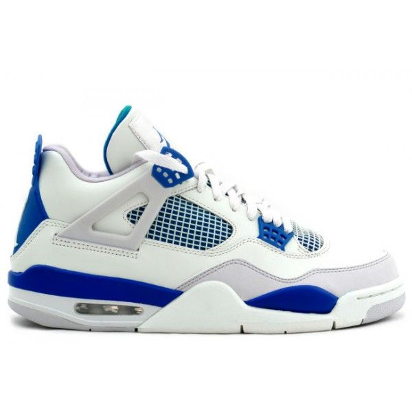 308497-141 Air Jordan 4 Retro Military Blue White $105 http://www