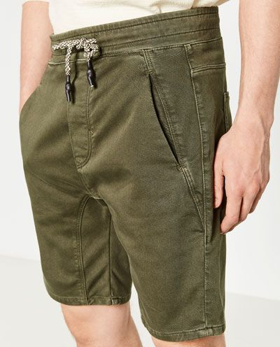 Image 5 of CHINO STYLE BERMUDA SHORTS from Zara