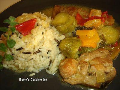 Betty's Cuisine: Φιλέτο κοτόπουλο με λαχανικά στη γάστρα