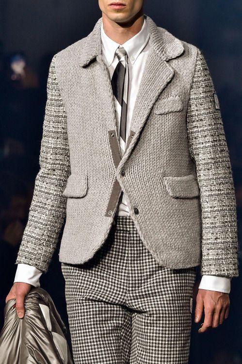 monsieurcouture: Moncler Gamme Bleu F/W 2015 Menswear Milan Fashion Week