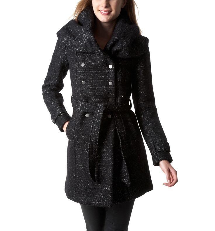 die besten 25 schwarzer mantel damen ideen auf pinterest schwarzer mantel outfit mantel. Black Bedroom Furniture Sets. Home Design Ideas