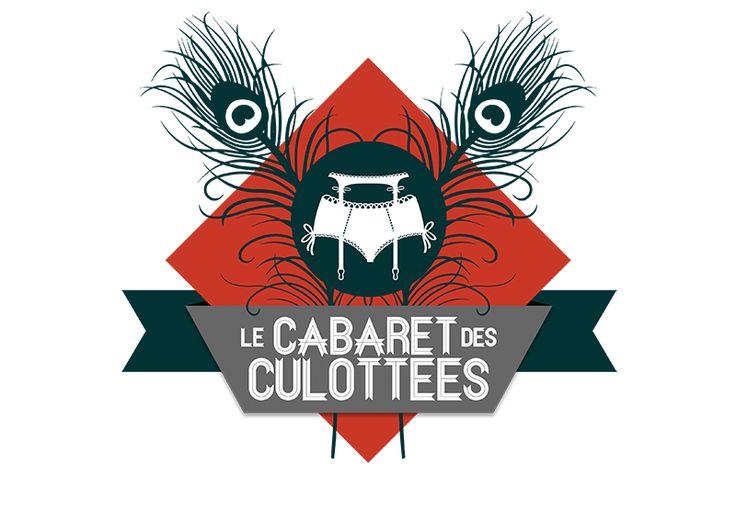 Logo pour le Cabaret des Culottées #burlesque #newburlesque Cornet de Pixels - Graphisme - Lille