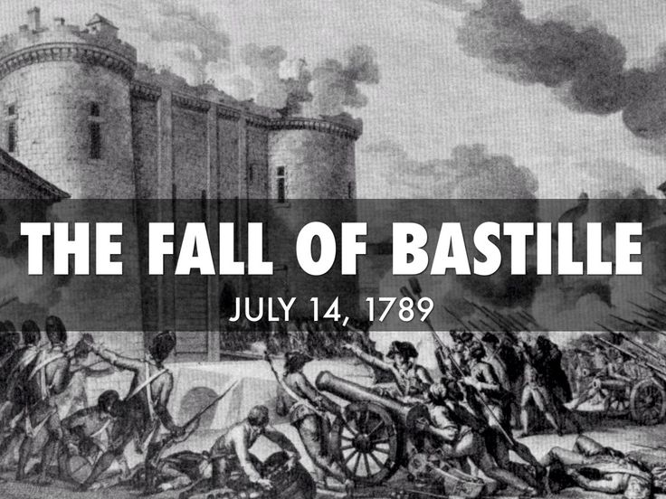 French Revolution: Fall of Bastille