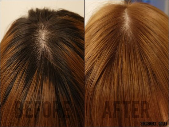 loreal hicolor highlights golden ginger | Sincerely, Dolly