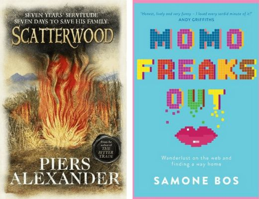 Booklover Mailbox - Scatterwood by Piers Alexander & Momo Freaks Out by Samone Bos