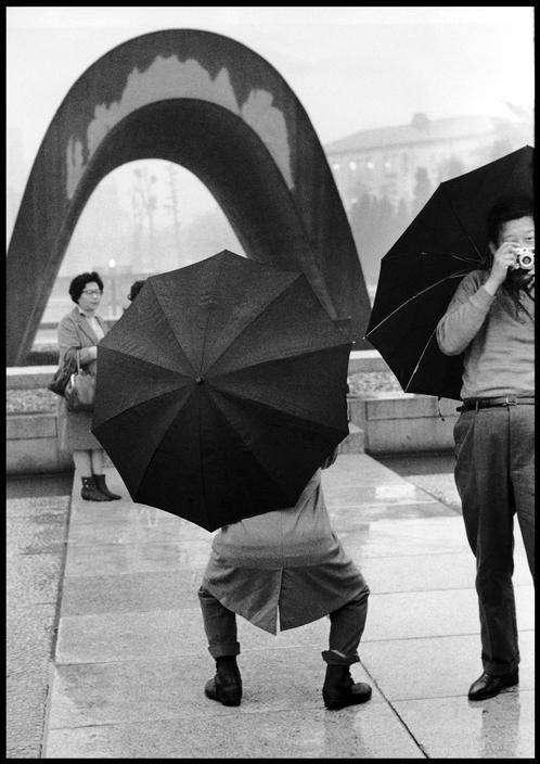 Elliott Erwitt - Epicenter, Hiroshima, Japan, 1970