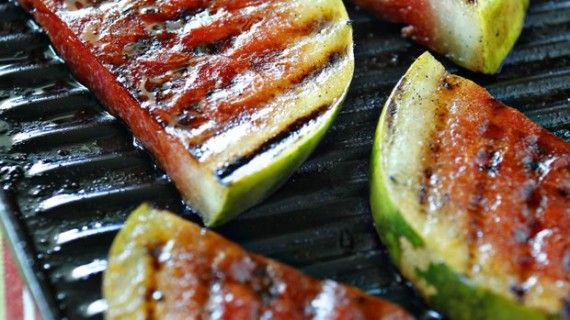 in style grilled recipes grilled food summer treats watermelon ...