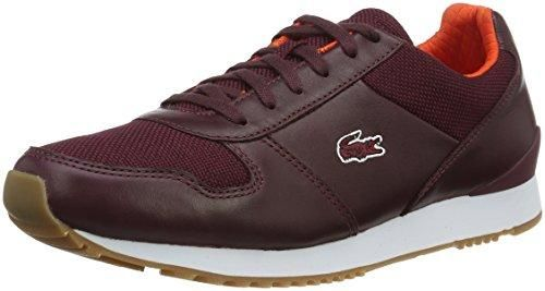 Oferta: 149€. Comprar Ofertas de Lacoste L!VE TRAJET 416 1 C - Zapatillas para hombre, color rojo, talla 44.5 barato. ¡Mira las ofertas!