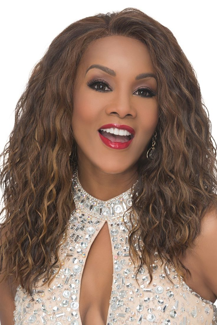 'Orlando-V -Lace Front Wig- made with 100% Heat Resistant Synthetic Fiber by Vivica Fox