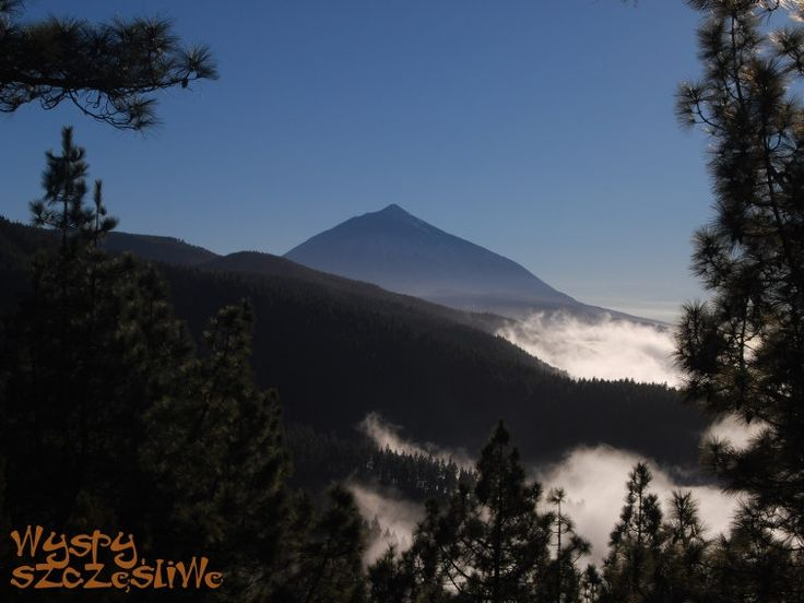 #Teneryfa Pico del Teide widok z Miradoru de Ortuño