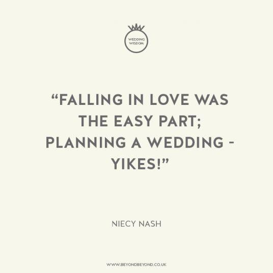 Niecy Nash // Wedding Wisdom No.12