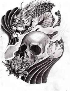 japanese tattoos: Tattoo Ideas, Japanese Tattoo, Tattoo Stuff, Japanesetattoos29Jpg 7861017, Japan Dragon Tattoo, Tattoo Inspiration, Japan Skull Tattoo Design, Tattoo Art, Japan Tattoo