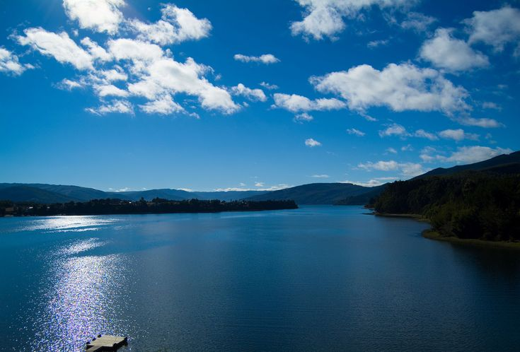 Lago Lanalhue, Biobío - Chile. ASI Conserva Chile is working to support…