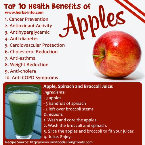healthy fruit facts are apples fruits