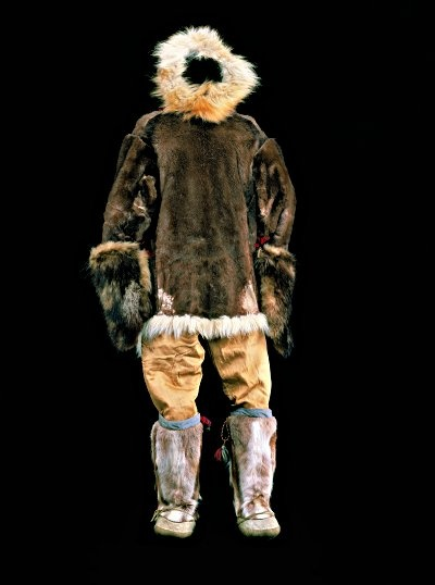 Caribou Parka With Caribou Pants Canvas Over Pants And