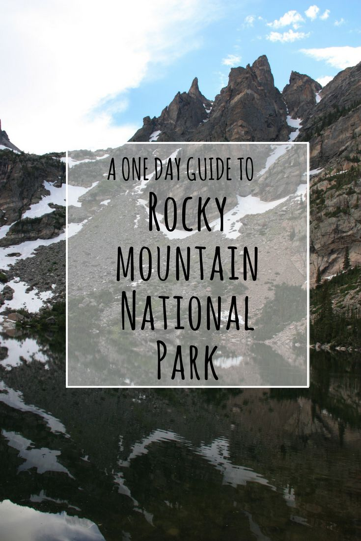 A Guide to One Day in Rocky Mountain National Park, CO, USA