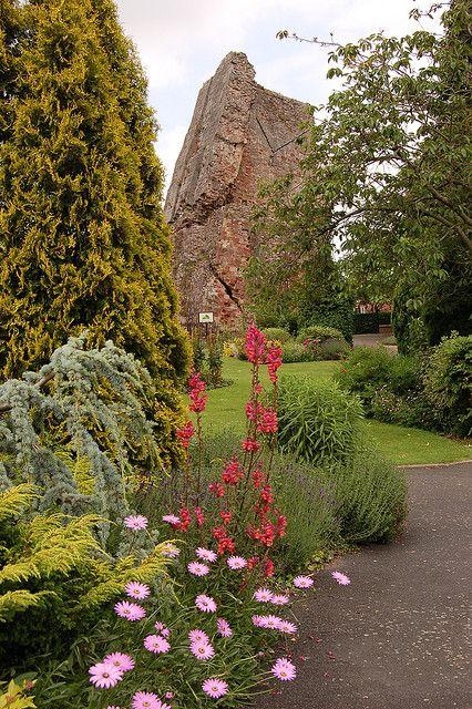 Bridgnorth Castle, Shropshire, England