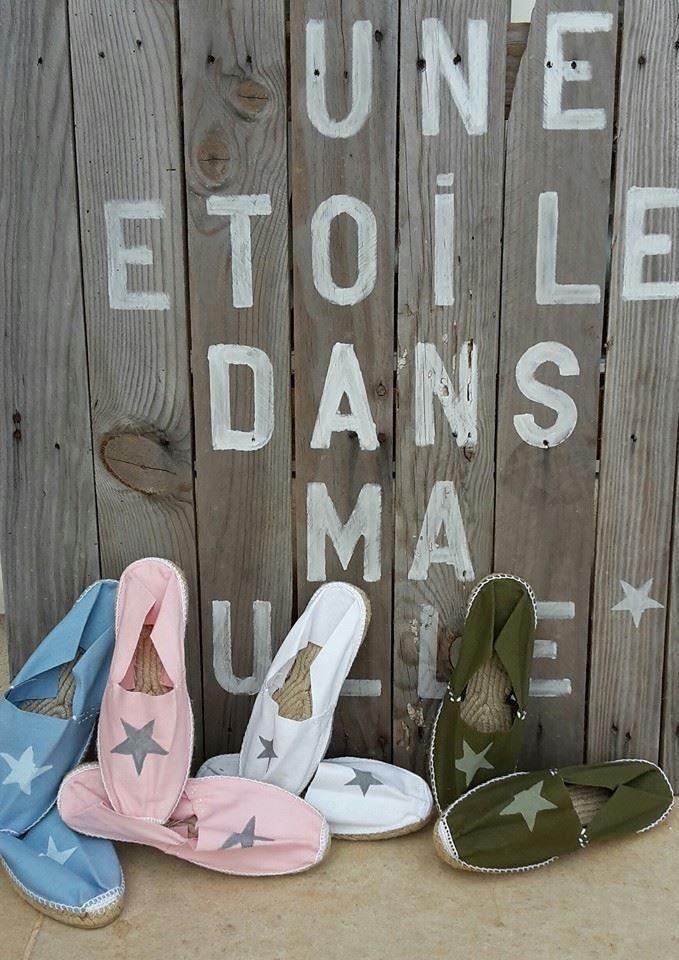 Espadrilles en toile made in  France