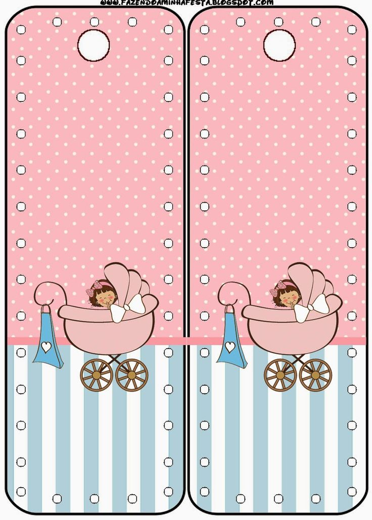 Cochecito Rosa de Bebé: Imprimibles Gratis para Fiestas.                                                                                                                                                                                 Más