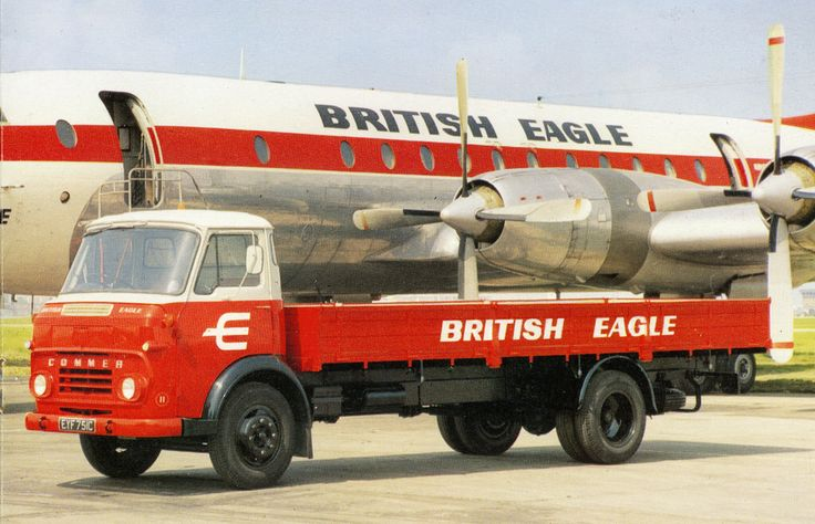 Commer Dropside Lorry British Eagle Airline