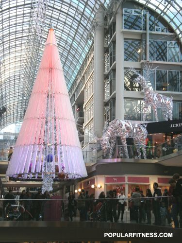 Artistic Christmas Tree at Eaton Centre this year