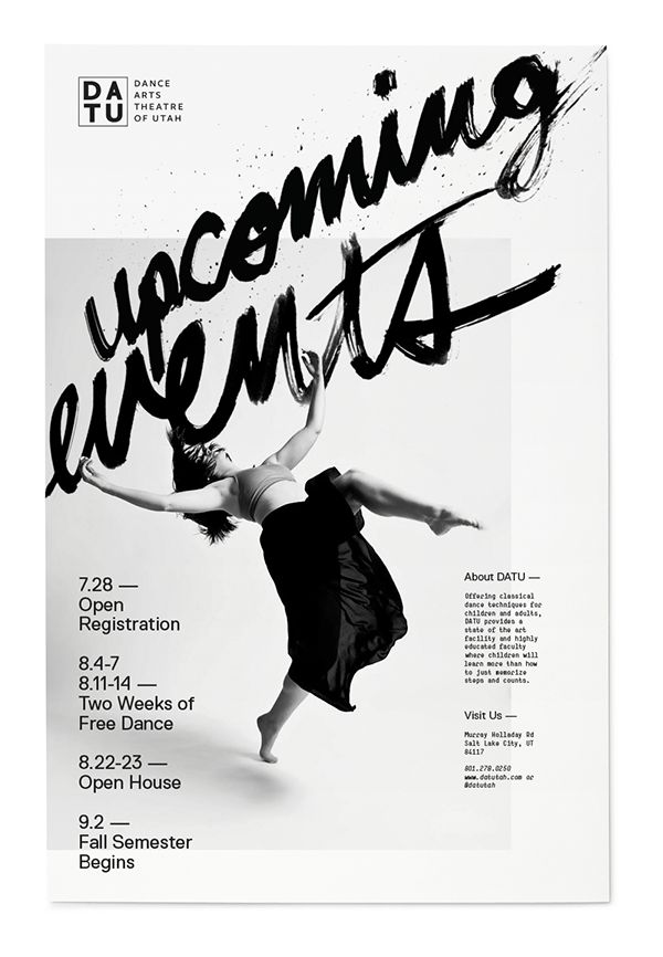 Dance Poster on Behance