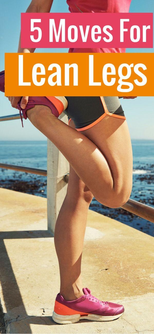 5 ejercicios para piernas tonificadas