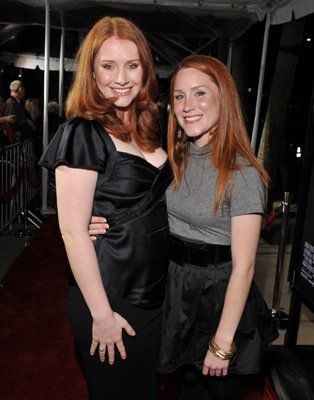 twin daughters Jocelyn Carlyle Howard and Paige Carlyle Howard...Ron Howard