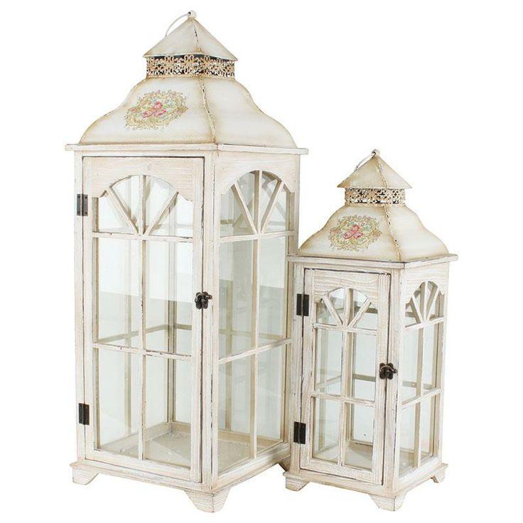 beautiful wooden/metal #lanterns www.inart.com