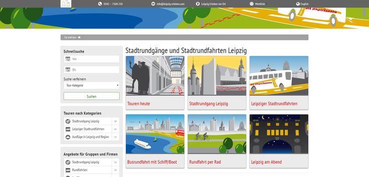 Frischer Glanz für leipzig-erleben.com - Für die Startseite des Tourismus-Veranstalters Leipzig Erleben war es an der Zeit, alten Staub zu entfernen und neuen Glanz hervorzubringen. Ziel der Überarbeitung war die Heraufsetzung der Website im Ranking von Suchmaschinen und mehr Benutzerfreundlichkeit.  Das eine bleibt, das andere geht. #seo #netzGiraffe #leipzig #tourismus #konzept
