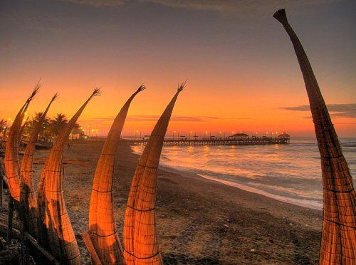 Huanchaco Beach, Trujillo, Peru #Peru #beaches http://academia-superior.org