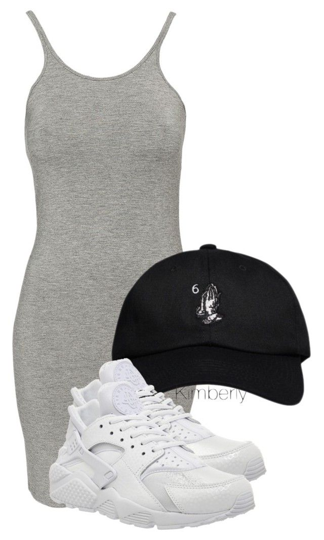 """""""Untitled #1188"""" by whokd ❤ liked on Polyvore featuring T By Alexander Wang, October's Very Own and NIKE"""