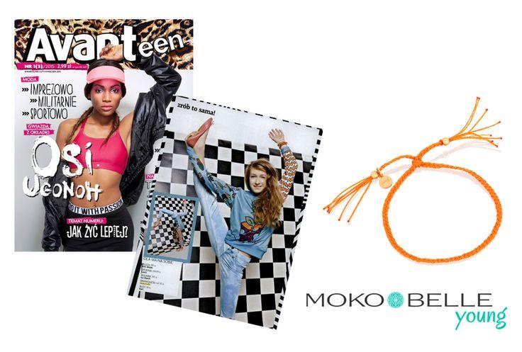 #mokobelle #mokobellejewellery #jewellery #jewelry #bransoletka #lifestyle #bijou #stars #pressroom #avanteen #young