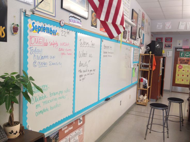 Whiteboard Organization. Classroom decor, classroom decorations and organization.   theardentteacher.com