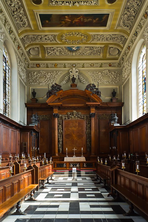Trinity College Chapel Oxford University UK