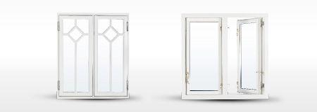 Måttbeställda fönster gör ditt fönsterbyte smidigt och enkelt. Här finns vackra allmogefönster i gammal stil. Vilken stil har ditt hus? Fyra viktiga saker att tänka på vid fönsterbyte är material, funktion, utseende och energieffektivitet.