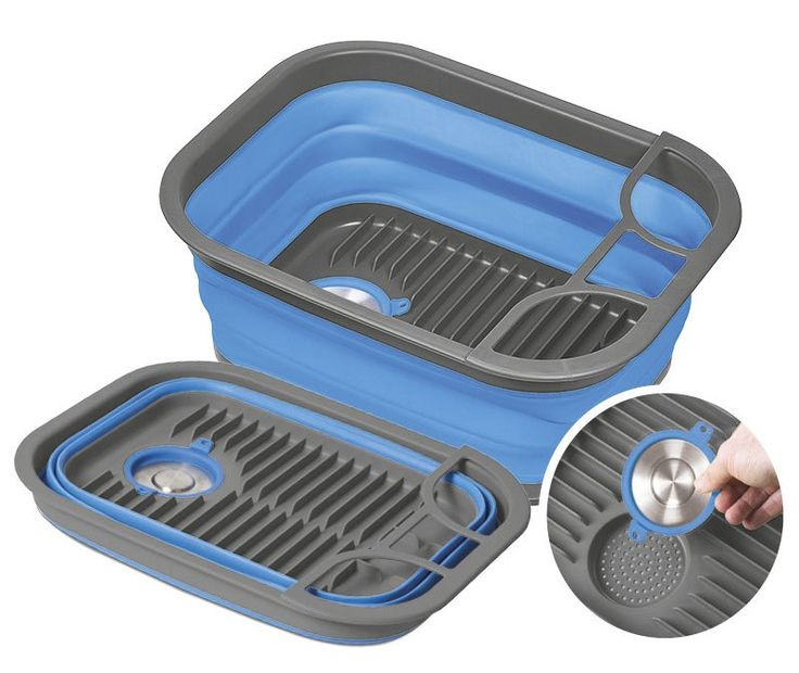 For Sale Companion Portable Kitchen Sink Pop up dish tub and tray for outdoors and camping. See price and info here.