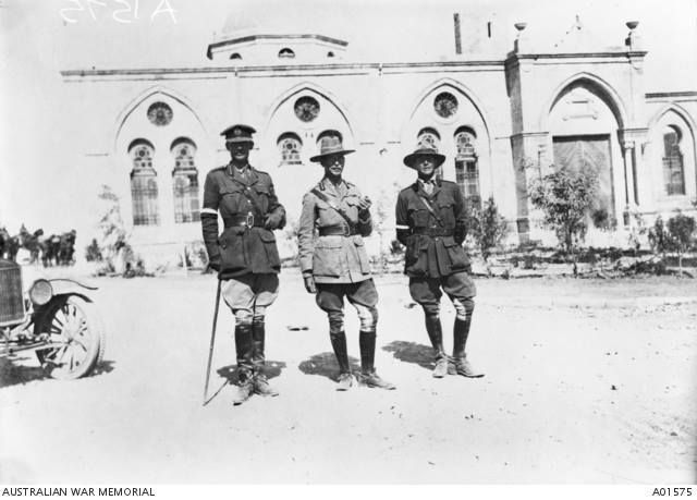 General Chauvel at Beersheba