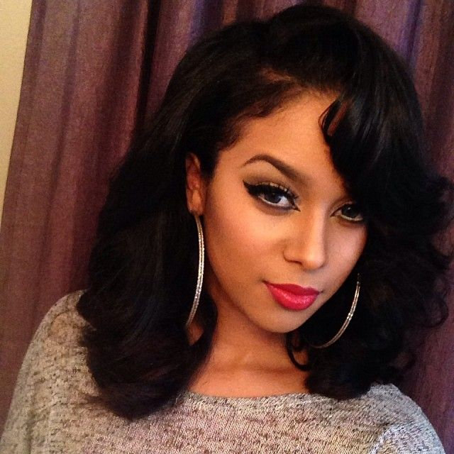 17 Best Images About Black Hair Weaves On Pinterest Weave Hairstyles Body Wave And Black