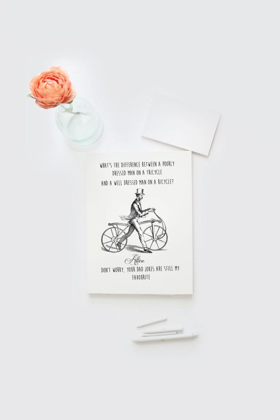Father's Day card DIY printable digital by Papierscharmants