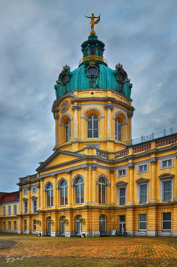 Charlottenburg Palace is the largest palace in Berlin, Germany