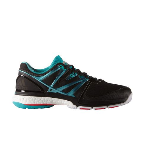 Chaussures Handball adidas stabil boost Femme Noir/Turquoise