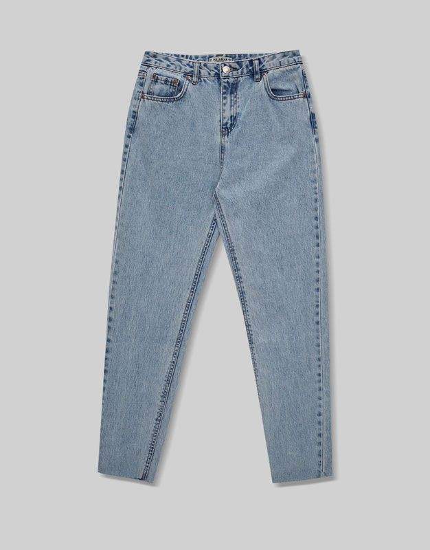 Jean mom fit - Jeans - Denim - HIDDEN - PULL&BEAR France