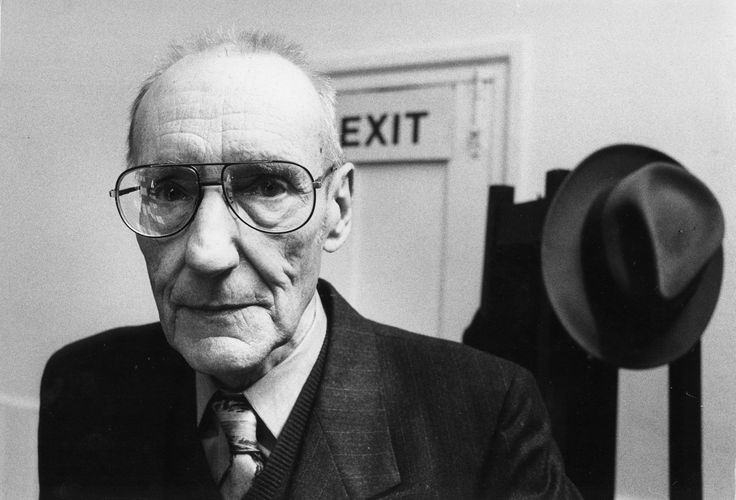 William Burroughs by John Minihan (London 1988)