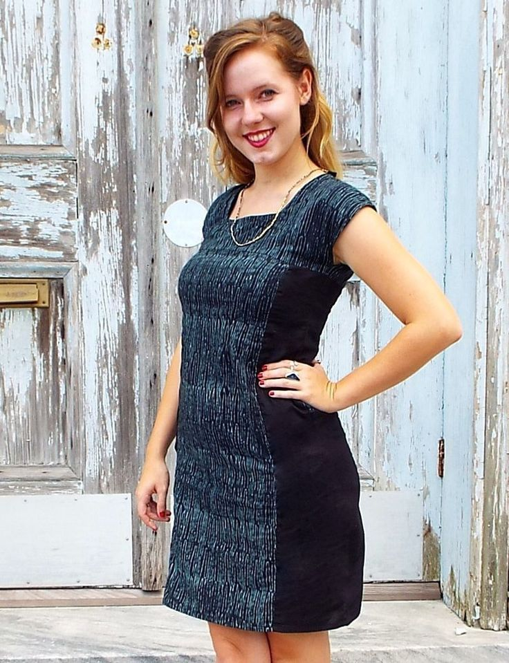 Koji Teal Shift Dress from Passion Lilie Dresses, Fair