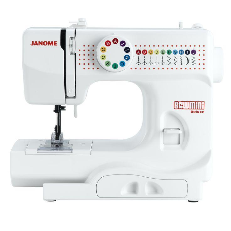 De Sew Mini Deluxe is een naaimachine voor kinderen, zodat ook zij veel naaiplezier kunnen hebben met een echte naaimachine.Specificaties:persvoetveiligheid om de vingers te beschermen,10 steken, waaronder de genaaide zigzag en een siersteek,achteruitknop,accessoirevakje,regelbare spanning,Opgelet: deze...