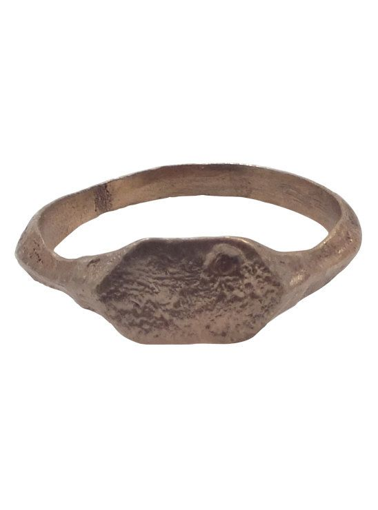 Medieval Mans Pinky Ring C.13th-15th Century by PicardiAntiques