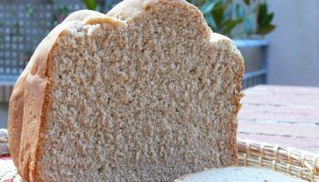 Pan de espelta en panificadora, receta básica de pan que sabe a pan