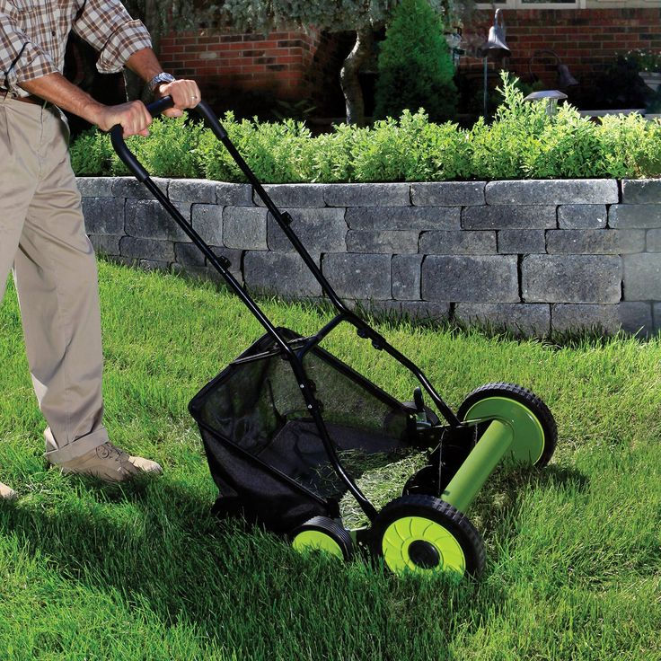 best manual push lawn mower