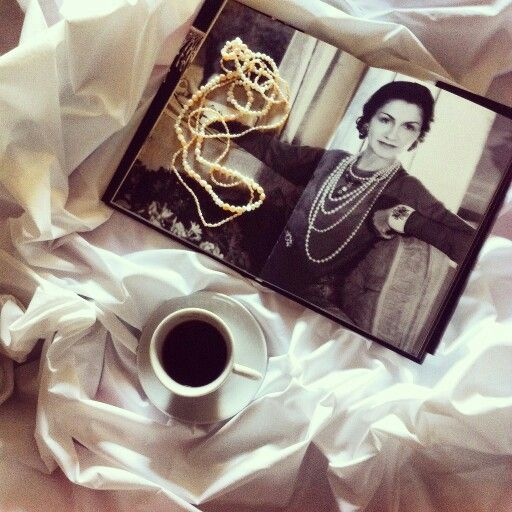 Monday morning... coffee and chanel story. Some women inspired others! Read more in www.theblablasmoments.blogspot.gr